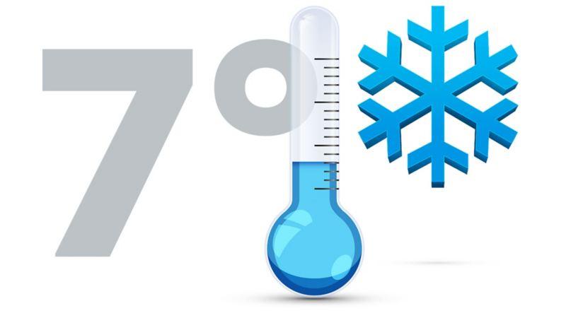 Skifte dekk ved 7 grader vinterdekk sommerdekk