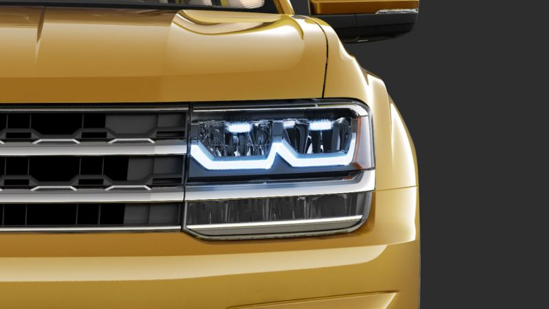 volkswagen teramont led headlight