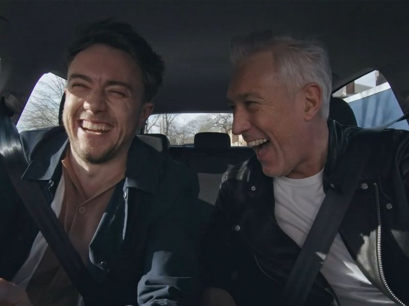 Roman and Martin Kemp take a trip in the all-new Volkswagen Golf
