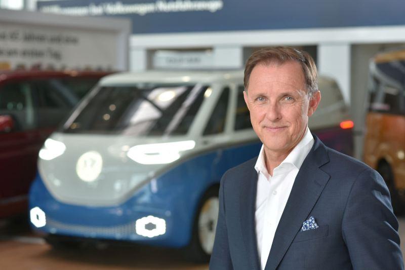 Thomas Sedran, prezes zarządu Volkswagen Samochody Dostawcze