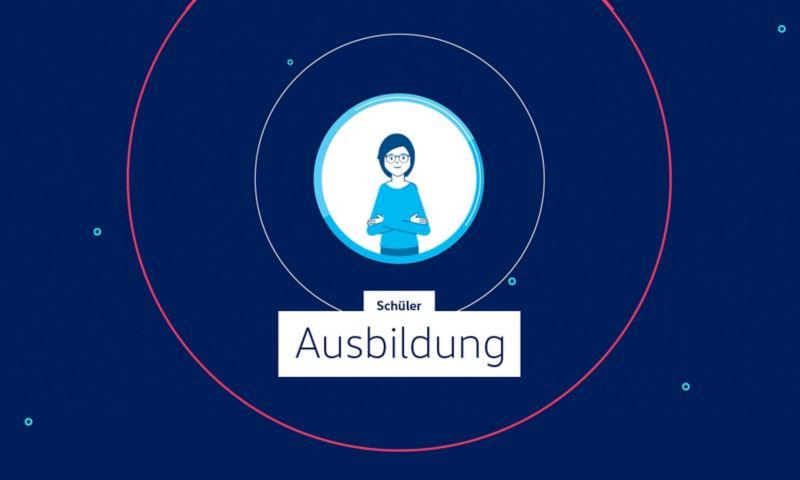 Video über den Ablauf der Bewerbung für einen Ausbildungsplatz bei Volkswagen