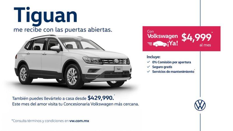 Tiguan 2020, la SUV familiar a precio rebajado en las promociones de febrero de VW México
