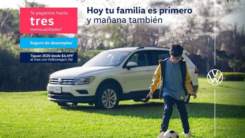 Tiguan 2020 - Estrena esta camioneta familiar con las promociones VW de mayo