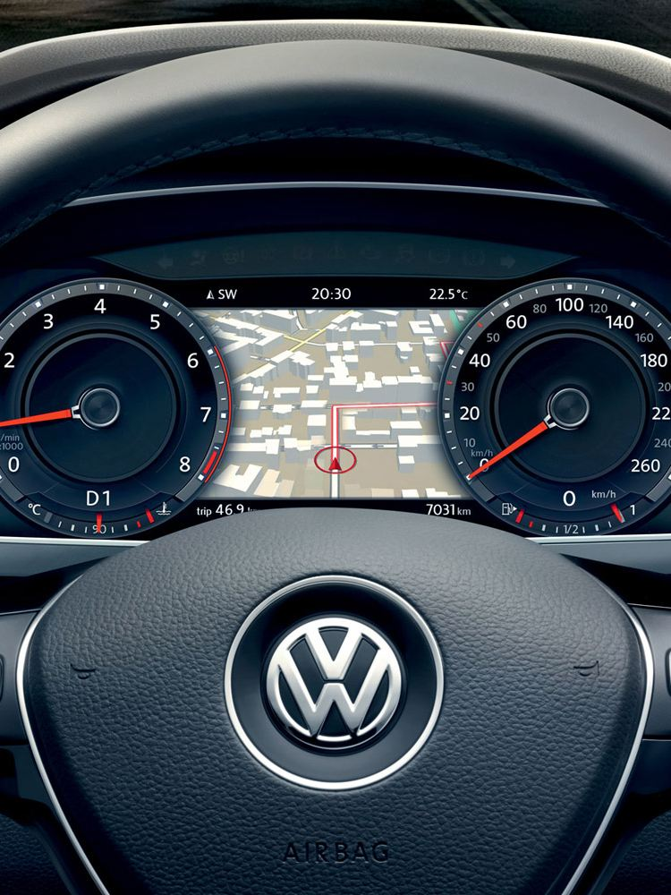 vw tiguan active info display