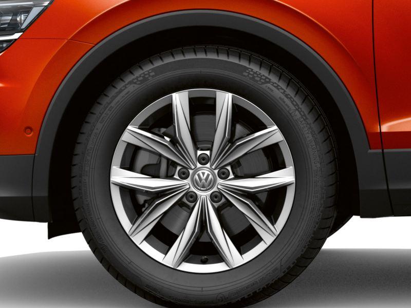 """Tiguan AllSpace Bold 18"""" alloy wheel"""