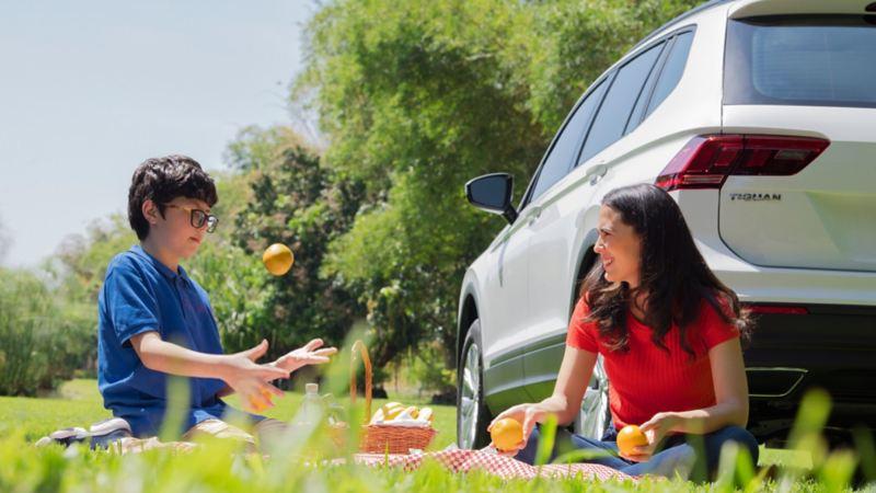 Tiguan 2020, la camioneta VW ideal para la familia y los paseos en exterior