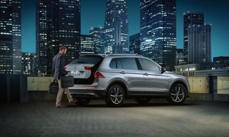 Easy Open coffre Tiguan