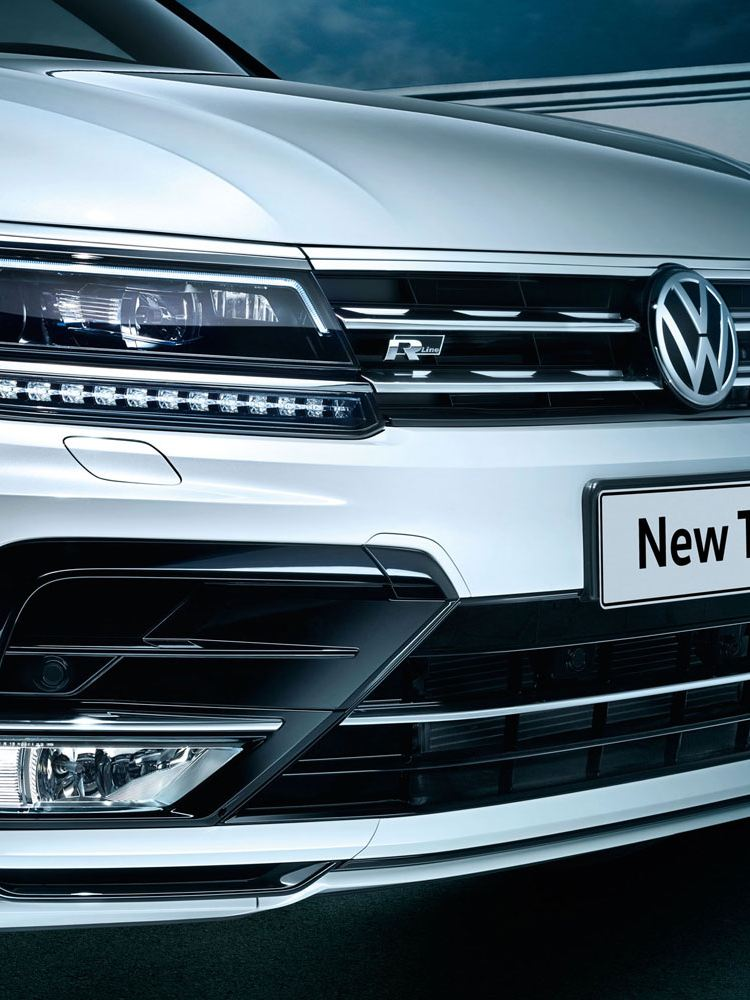vw tiguan LED headlights