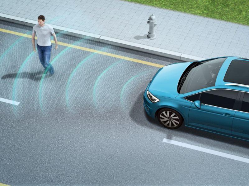 Front Assist 車前碰撞預警系統 (含AEB 自動輔助緊急煞車功能)