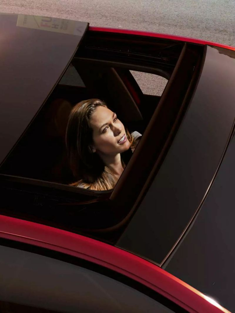 Toit ouvrant ouvert Polo GTI