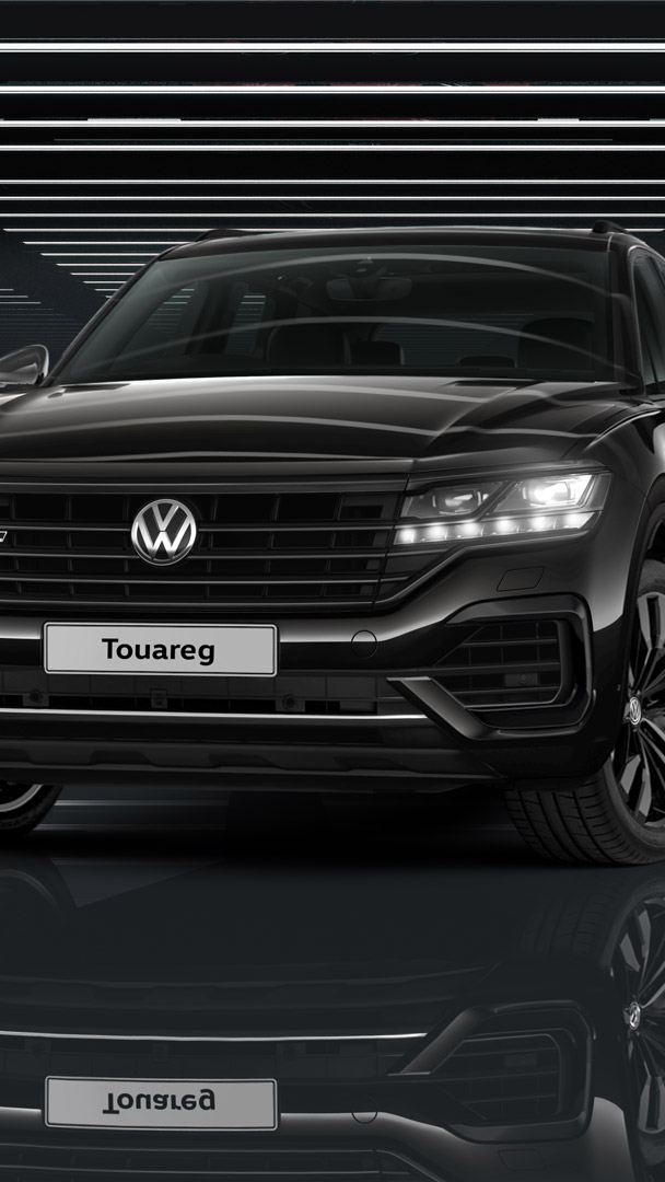 new touareg black edition