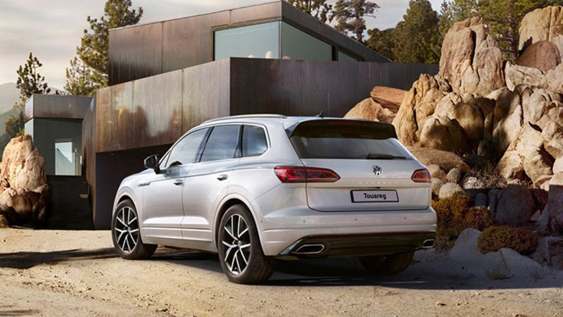 Take a long route in the new touareg
