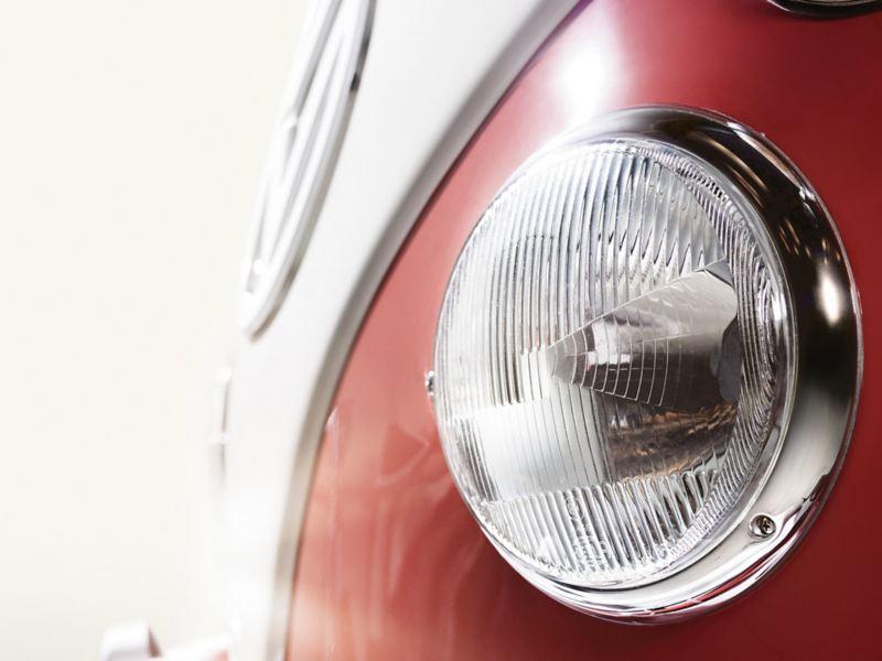 vw Volkswagen Transporter 1976 varebil sambabuss rød og hvit Ofte stilte spørsmål bruktbil