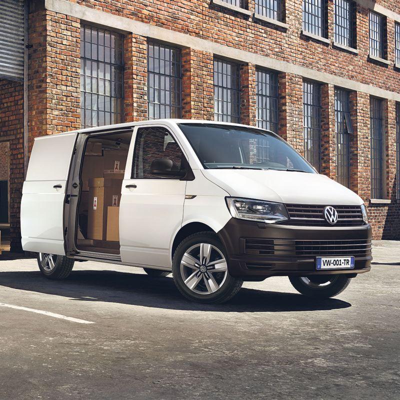 Volkswagen Véhicules Utilitaires Transporter Van Business Line vu de profil
