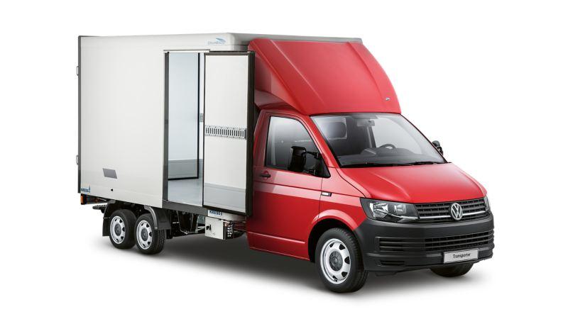 Volkswagen Transporter chłodnia/izoterma na podwoziu.