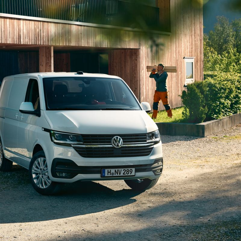 Transporter 6.1 blanc Volkswagen Véhicules Utilitaires