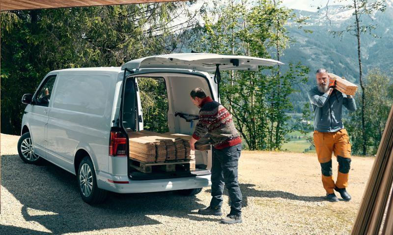 VW Transporter gott om lastutrymme