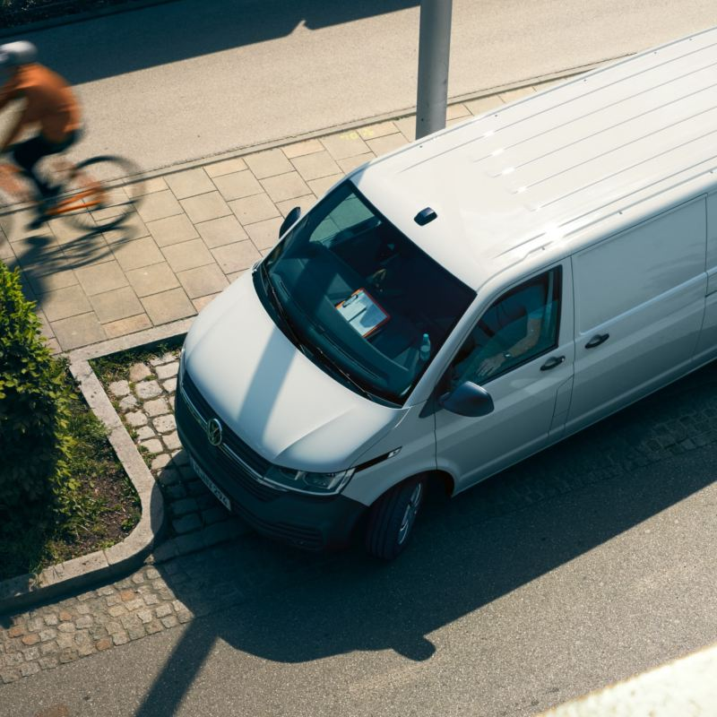 Provkörning av VW Transporter 6.1