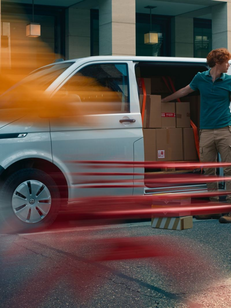 Skjutdörrar i nya VW Transporter T6.1