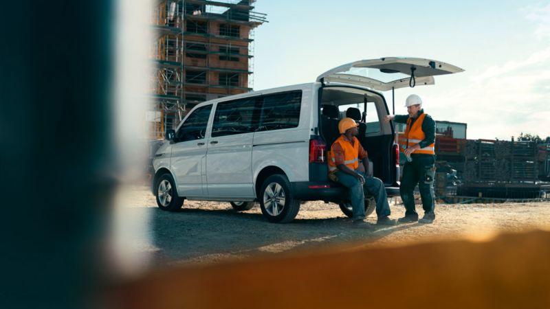 vw Volkswagen Transporter varebil kassebil arbeidsbil firmabil