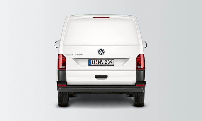 Baklucka utan fönster på en VW Transporter Skåp