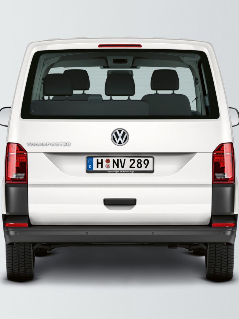 Baklucka med fönster på en VW Transporter Kombi