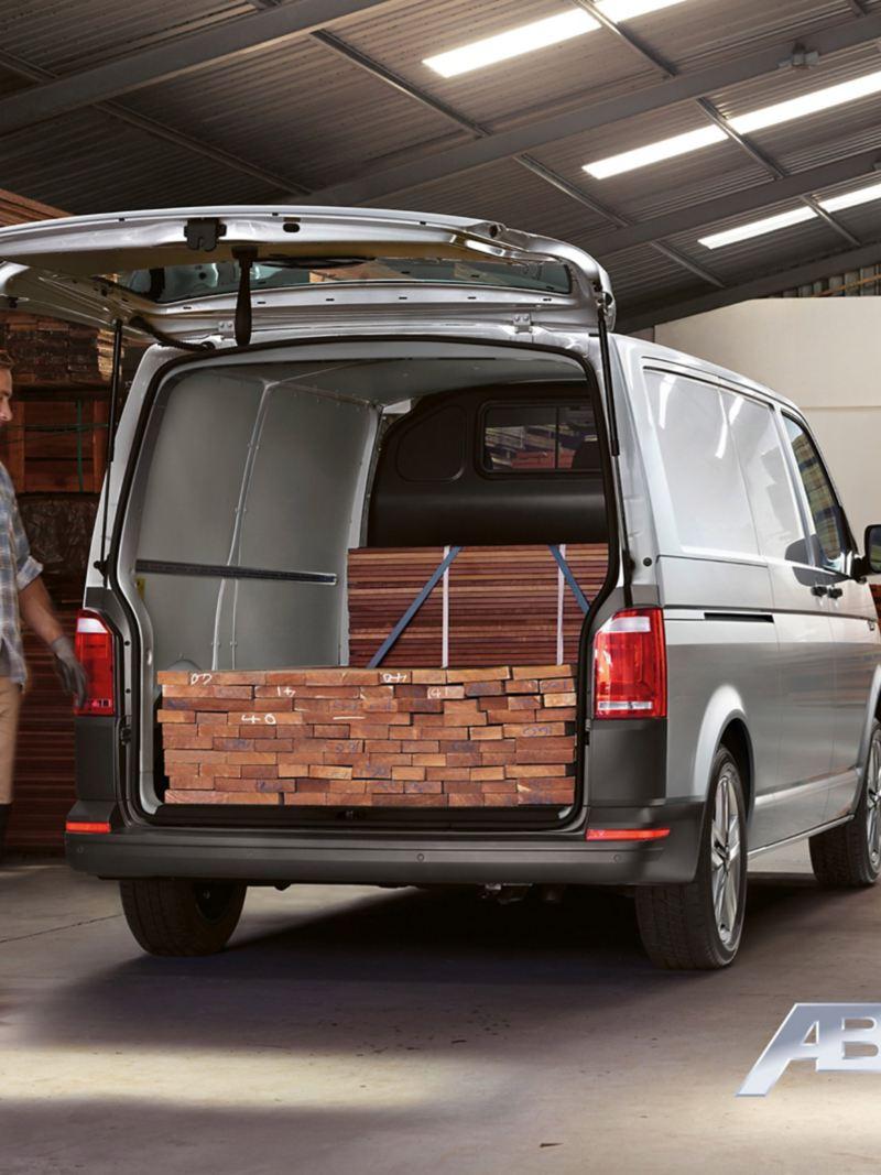 vw Volkswagen ABT e-Transporter elvarebil elektrisk el varebil miljøvennlig utslippsfri budbil liten 3 seter nullutslipp elbil