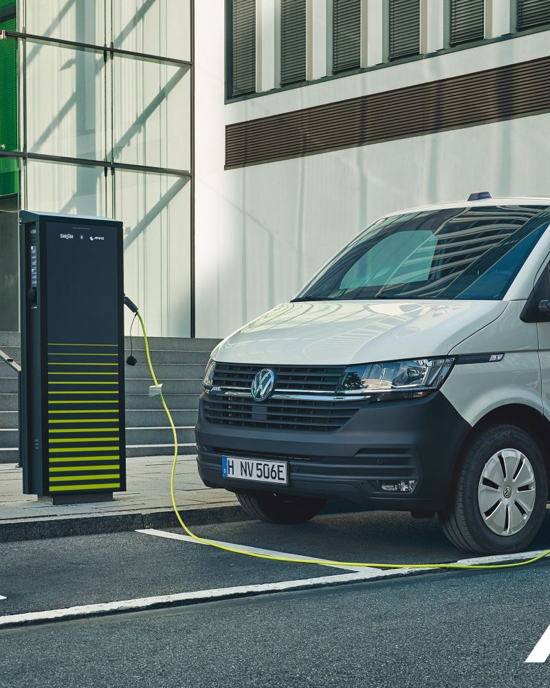 Der ABT e-Transporter ist eines der vollelektrischen Fahrzeuge von Volkswagen Nutzfahrzeuge.