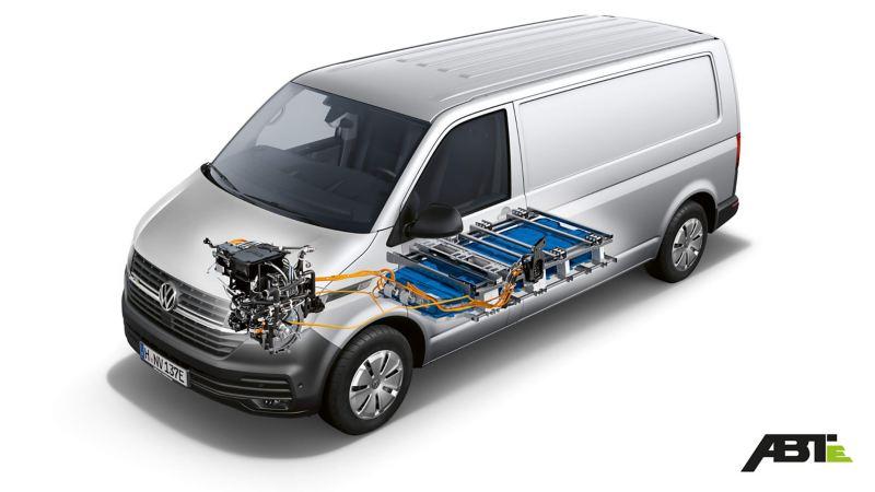 Plan technique d'un ABT e-Transporter
