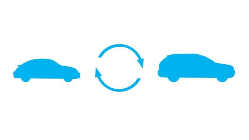 Auto maiņa - trešais solis