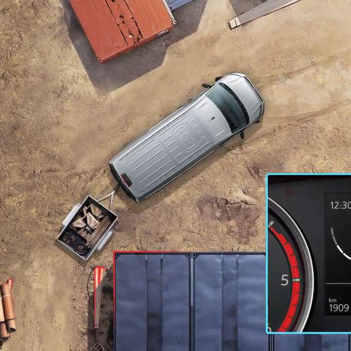 Trailer assist Volkswagen Bedrijfswagens