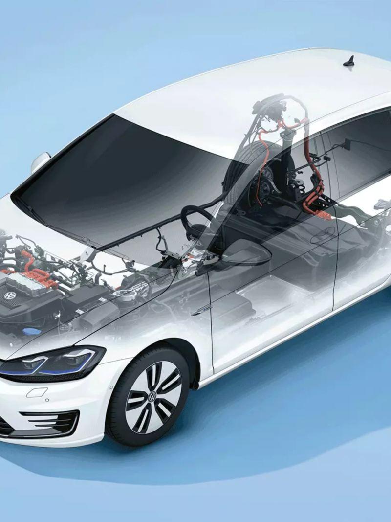 Transmission électrique e-Golf