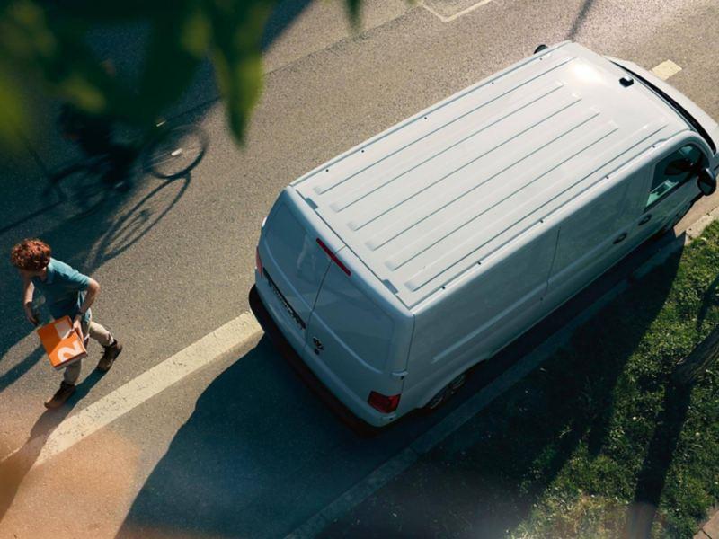 Camioneta de reparto de mercancía