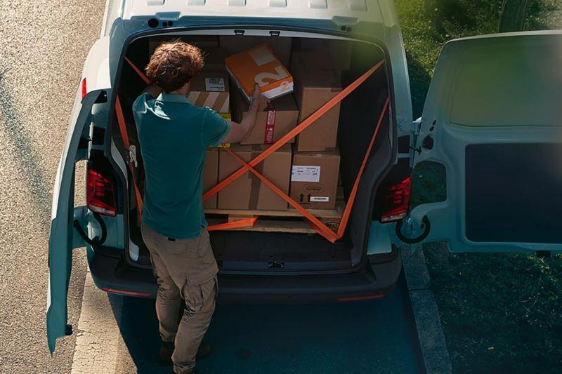Capacidad de carga Transporter 6.1 Cargo Van