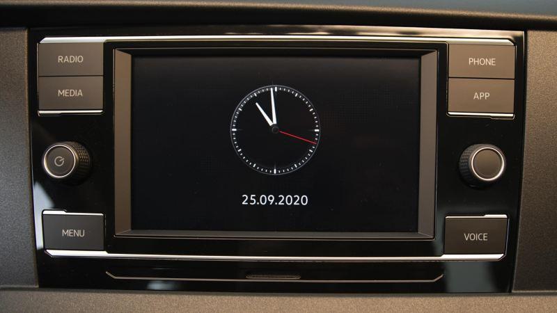 Transporter 6.1 Chasis Cabina sistema radio AM/FM