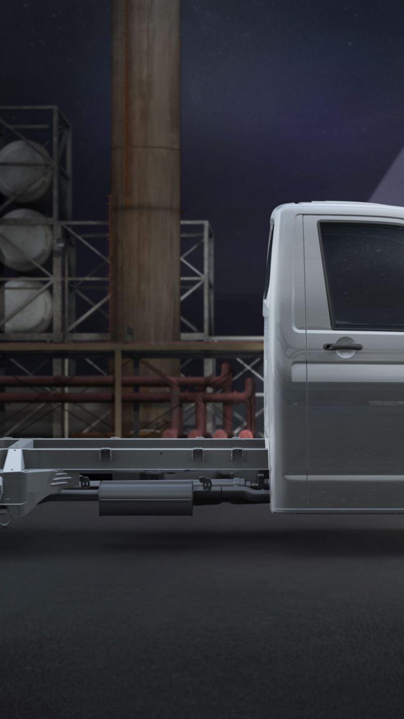 Transporter 6.1 Chasis vista lateral