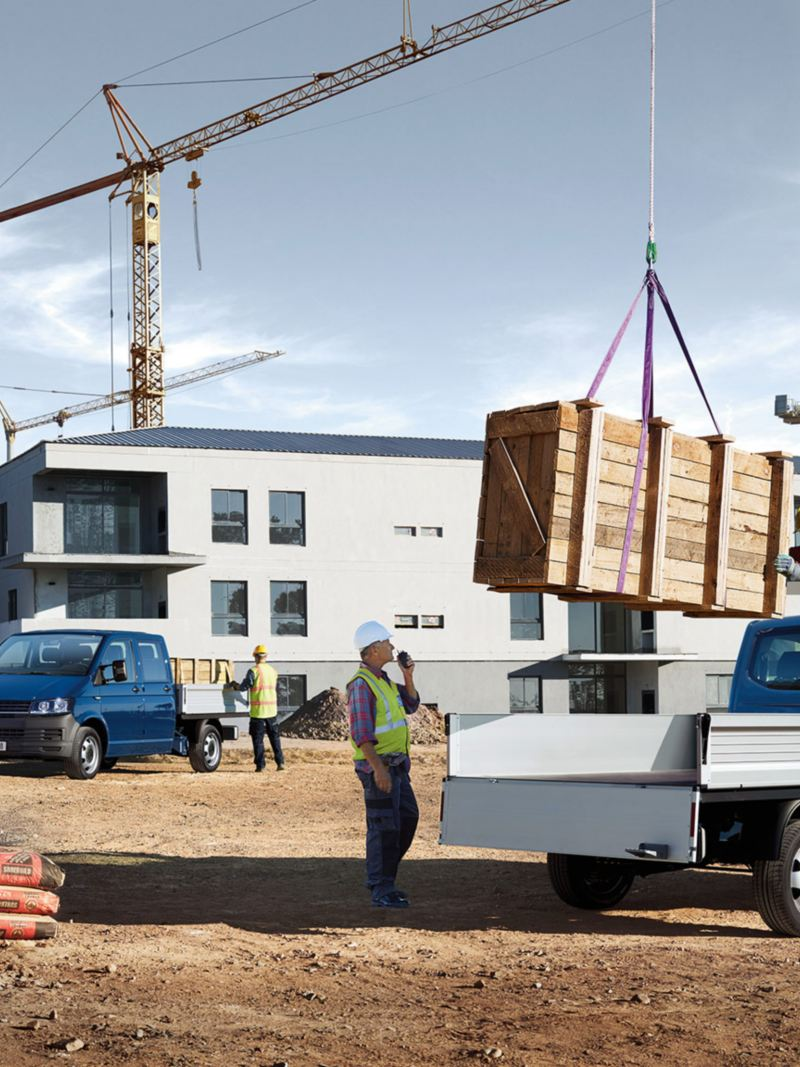 Camioneta para construcción