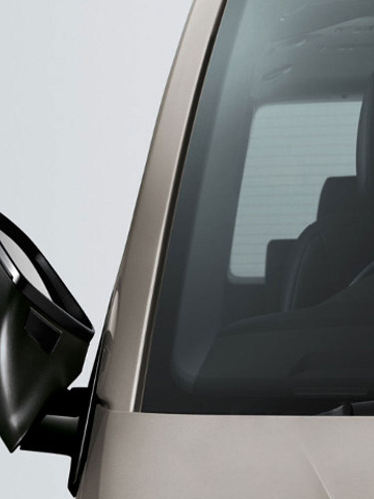 transporter crew bus exterior