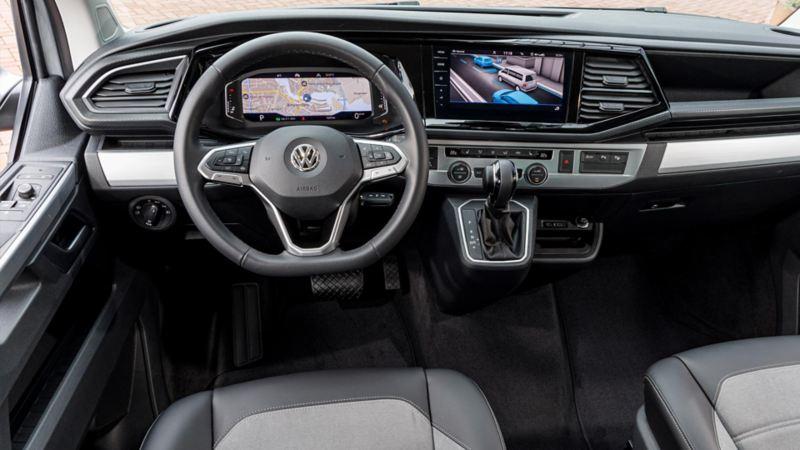 VW Transporter T6.1 interiör