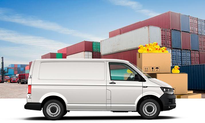Transporter furgón