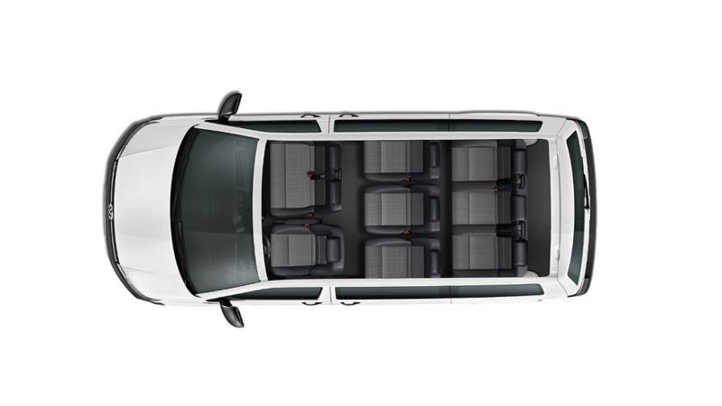 Transporter Pasajeros capacidad asientos