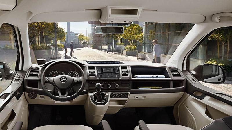 Interior cómodo Transporter Pasajeros Volkswagen