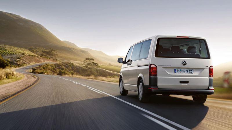 Camioneta para transporte de pasajeros Volkswagen