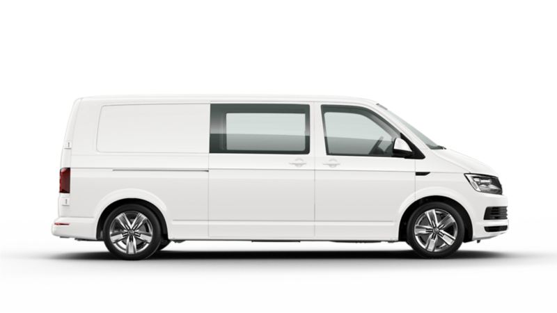Volkswagen Transporter Twincabin - 5-sitsig skåpbil