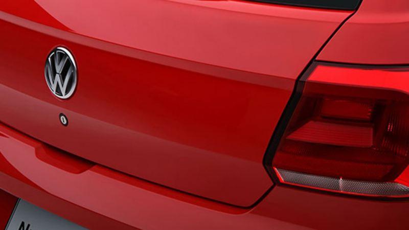 Parte trasera de Nuevo Gol VW, diseñado con frenos ABS para mayor seguridad al conducir