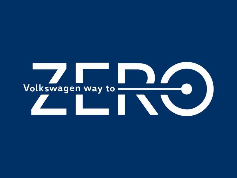 Logotipo de cero emisiones de Volkswagen
