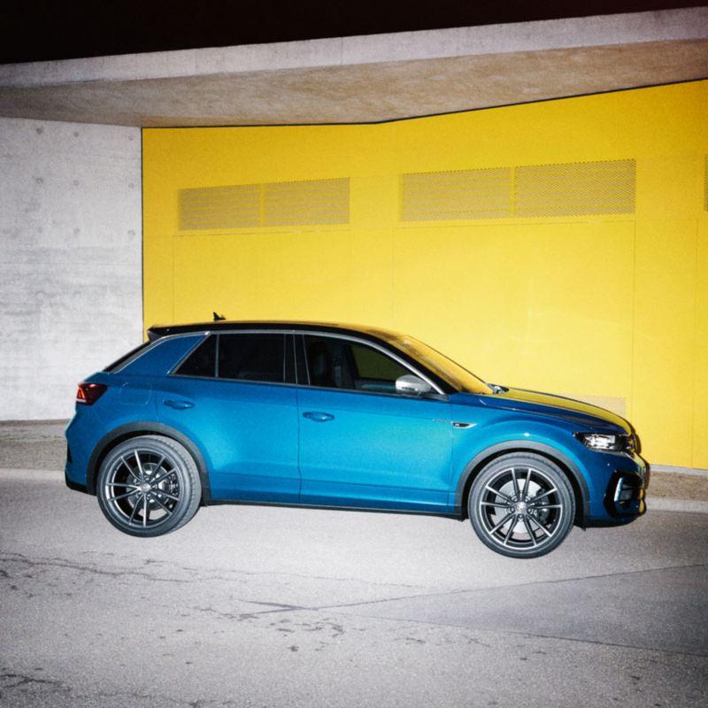 Volkswagen T-Roc R azul de noche