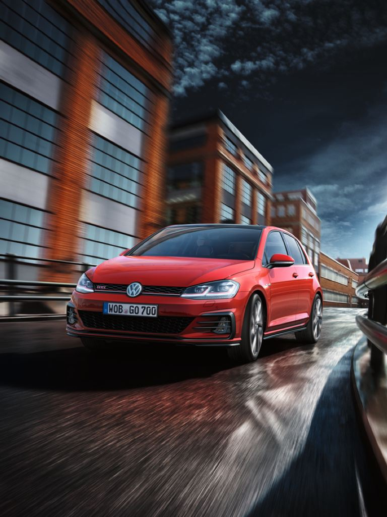 Asistente para emergencias del Volkswagen Golf 8 GTI