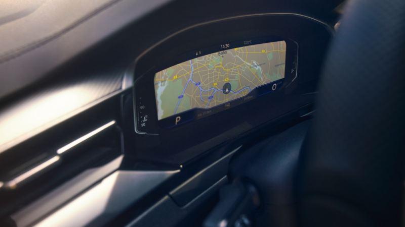 Pantalla de control del salpicadero Digital Cockpit Pro en un Arteon Shooting Brake