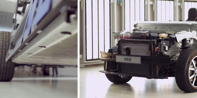 Vistas en detalle de la plataforma MEB de Volkswagen